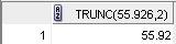trunc function 1